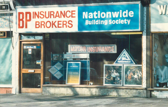 BP Insurance Brokers old Blackpool Branch