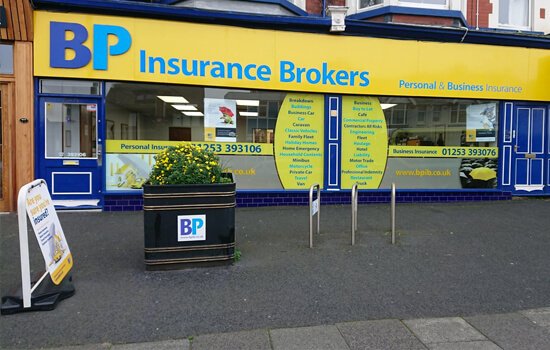 BP Insurance Brokers Blackpool Branch