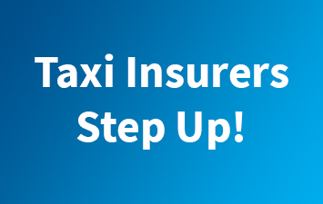 Taxi Insurers Step Up!